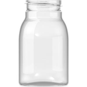 Botella eville boca ancha
