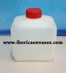 botella rectangular