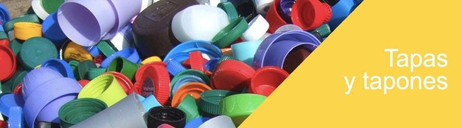 comprar tapas y patones para envases de plastico Madrid